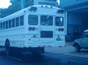 Bus cupo # 3126